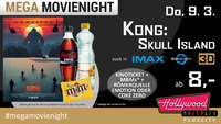 Mega MovieNight: KONG - SKULL ISLAND@Hollywood Megaplex