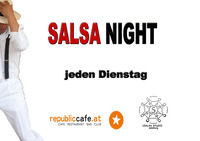 SALSA NIGHT@Republic-Cafe