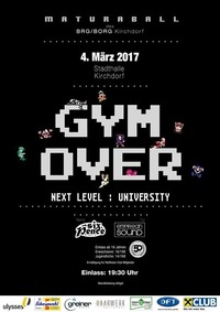 GYM OVER - Next Level: University@Stadthalle Kirchdorf