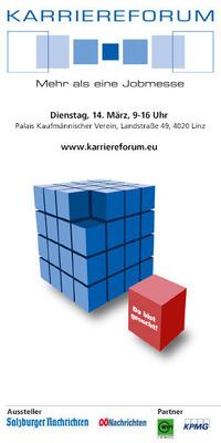 7. Karriereforum Linz@Palais Kaufmännischer Verein