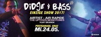 Didge & Bass mit Air Rapide, Airtist & The Uptown Monotones@Postgarage