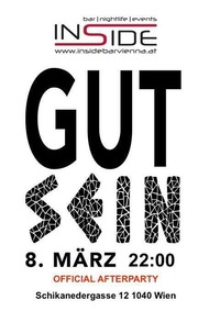GUT SEIN official afterparty@Inside Bar
