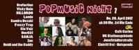 PopMusic Night 7 - Do, 20. April im Cafe Carina@Café Carina