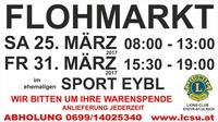 FLOHMARKT@ehemaliger SPORT EYBL