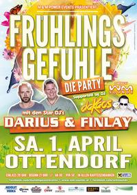 Frühlingsgefühle mit Darius & Finlay@Veranstaltungszentrum Ottendorf