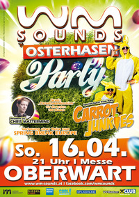 WM-SOUNDS Osterhasenparty 2.0@Mezo Messezentrum Oberwart