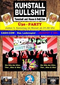 3. Samstag des Monats im Kuhstall - Ü30 Party@Kuhstall