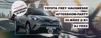 Toyota Frey C-HR Aftershowparty@K1 - Club Lounge