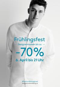 Geheimnisvolles Grün beim Frühlingsfest der Extraklasse  am 6. April im McArthurGlen Designer Outlet Salzburg@Designer Outlet Salzburg
