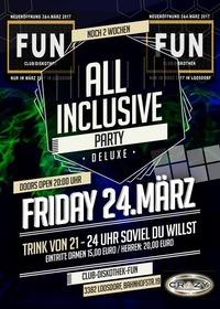 All Inclusive Party / Club Diskothek FUN@Club Diskothek Fun Loosdorf