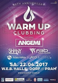 10 years Warm Up Clubbing