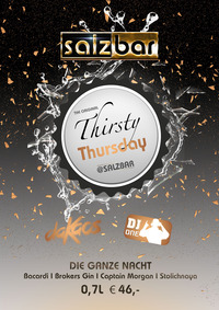 Thirsty Thursday @Salzbar