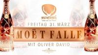 Moët Falle mit DJ Oliver David@Wildwechsel