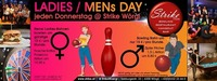 Ladies & Men's Day im Strike Bowling Wörgl - Check in jeden Do@Check in