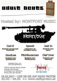 ADULT BEATZ #91 - Hosted by: Montfort Music@Proton - das feie Radio