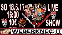 Underground-Wrestling Liveshow Wien@Weberknecht