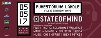Ruhestörung Ländle pres. State of Mind [NZ]@K-Shake