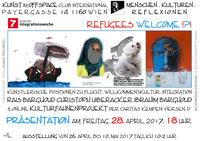 Refugees Welcome!?! Künstlerische Positionen zu Flucht, Willkommenskultur, Integration@Cafe Club International C.I.
