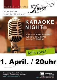 Karaoke Night@Cafe Zwirn