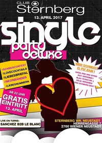 Single Party *Deluxe* NO.5 // Do 13. April // Sternberg@Club Sternberg