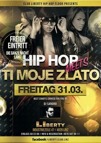 PART 2 - Hip Hop meets *Ti moje zlato* - Club Liberty@Club Liberty