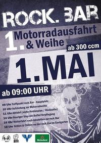 1.Motorradausfahrt & Weihe@rock.Bar