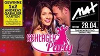 Themenfreitag ▲▲ Schlagerparty - die größte Tanznacht ▲▲@MAX Disco