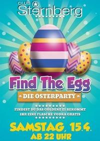 Find The Egg // Sa. 15. April // Sternberg@Club Sternberg