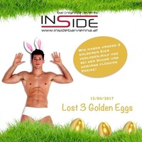 Lost 3 Golden Eggs - Easter Party @Inside Bar