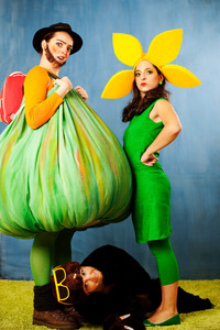 KERNÖLAMAZONEN: Kerni Kürbis Abenteuer - Die Sonnenblume Sonnenschein@Theater am Spittelberg