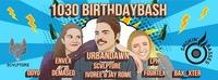 1030 Birthdaybash presented by Smokin' Basses & Scvlpture@Warehouse