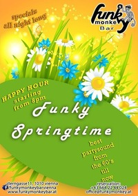 FUNKY Springtime !!! - Saturday April 8th 2017@Funky Monkey