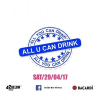 All U CAN DRINK SPECIAL@Inside Bar