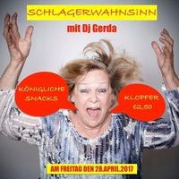 Schlagerwahnsinn mit Dj Gerda @Inside Bar