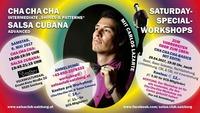 Saturday Specialworkshops ChachaCha & Salsa Cubana mit Carlos@Schauspielhaus Salzburg