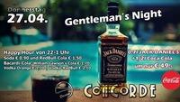 Gentleman's Night@Discothek Concorde