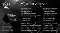 "Graz • VEGA ""V"" - Tour 2017/2018@P.P.C."