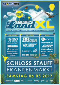 Candyland XL on 3 Floors@Schloss Stauf