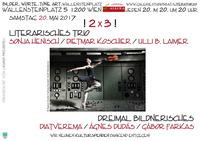 !2x3! Literarisches Trio & Dreimal Bildnerisches@Osteria Allora