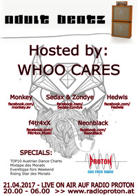 ADULT BEATZ #92 - Hosted by: Whoo Cares@Proton - das feie Radio