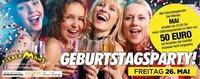 DEINE 50.- EURO Geburtstagsparty & Die Ultimative 90er & 2000er@Fledermaus Graz