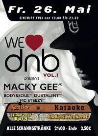 We love DNB VOL 1 with MACKY GEE@Excalibur