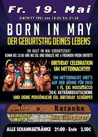 Born In May@Excalibur