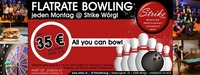 FLATrate Bowling jeden Montag im Strike - Check in Wörgl@Check in