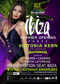 ★ IBIZA Summer Opening ★ feat. Djane Victoria Kern ★@Autohaus Birngruber
