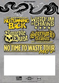 No Turning Back / Wisdom In Chains / Knuckledust u.a.@Arena Wien