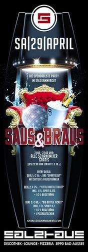 SAUS & BRAUS@Salzhaus