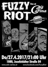 Fuzzy Riot Live At Cafe Carina@Café Carina