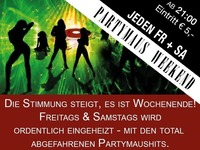 """Jeden Samstag """"Partymaus Weekend""""@Partymaus Wörgl"""