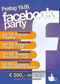 Facebook Party @Mausefalle Lienz